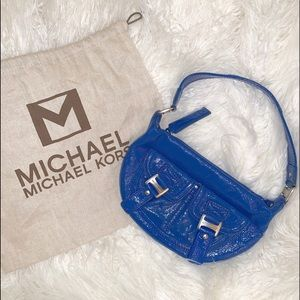 MK Michael Kors Patent Leather Shoulder Bag purse